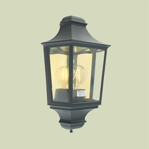 Настенный светильник Norlys Glasgow 730B 1х46Вт E27 черный/металл