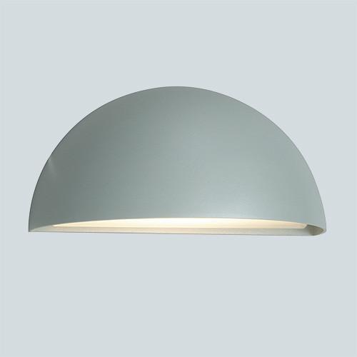 Настенный светильник Norlys Halden 510AL 1х57Вт E27 серый/металл