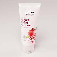 Очищающая пенка для умывания с гранатовым йогуртом Fruits Yogurt Foam Cleanser Pomegranate OTTIE - 150 мл