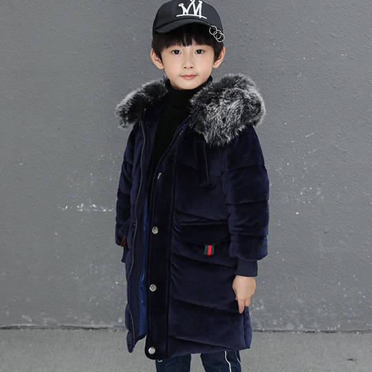Детская курточка для мальчика, синий
