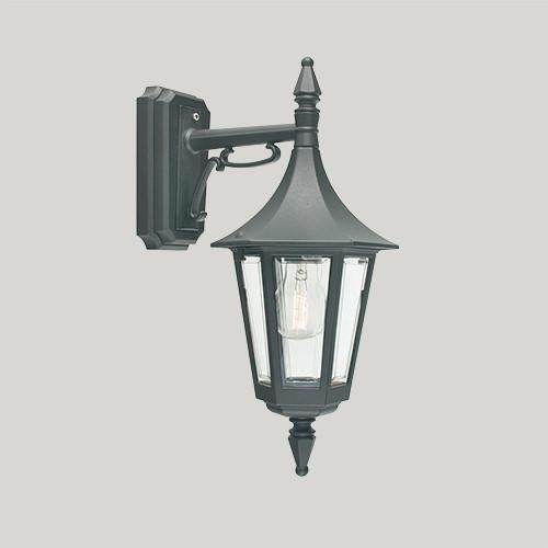Настенный светильник Norlys Rimini 2591В 1х46Вт E27 черный/металл