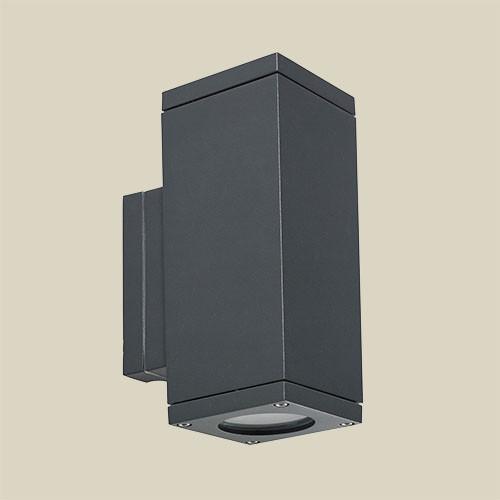 Настенный светильник Norlys Sandvik 791GR 2х25Вт GU10 графит/металл