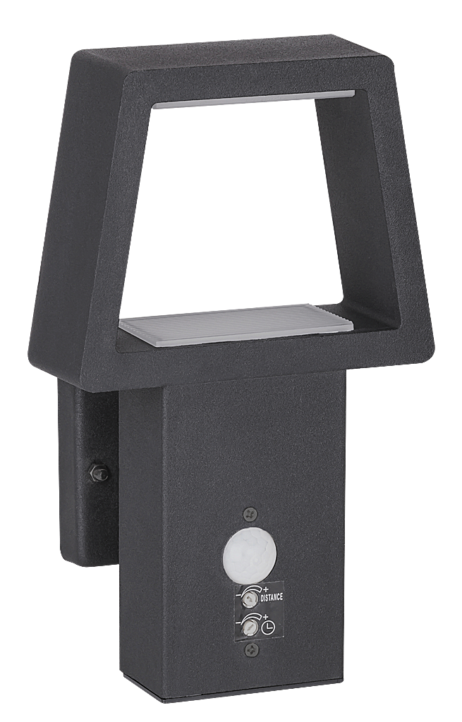Настенный светильник Rabalux Arizona 8668 1х10,5Вт LED серый/металл