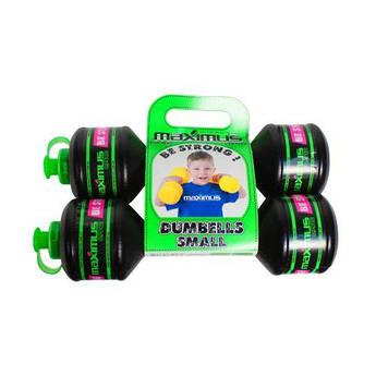 """Гантели-бутылочки """"Для мальчика"""", 2 штуки (0,75 кг) 5256М"""