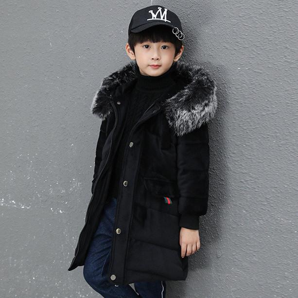Детская курточка для мальчика, черный