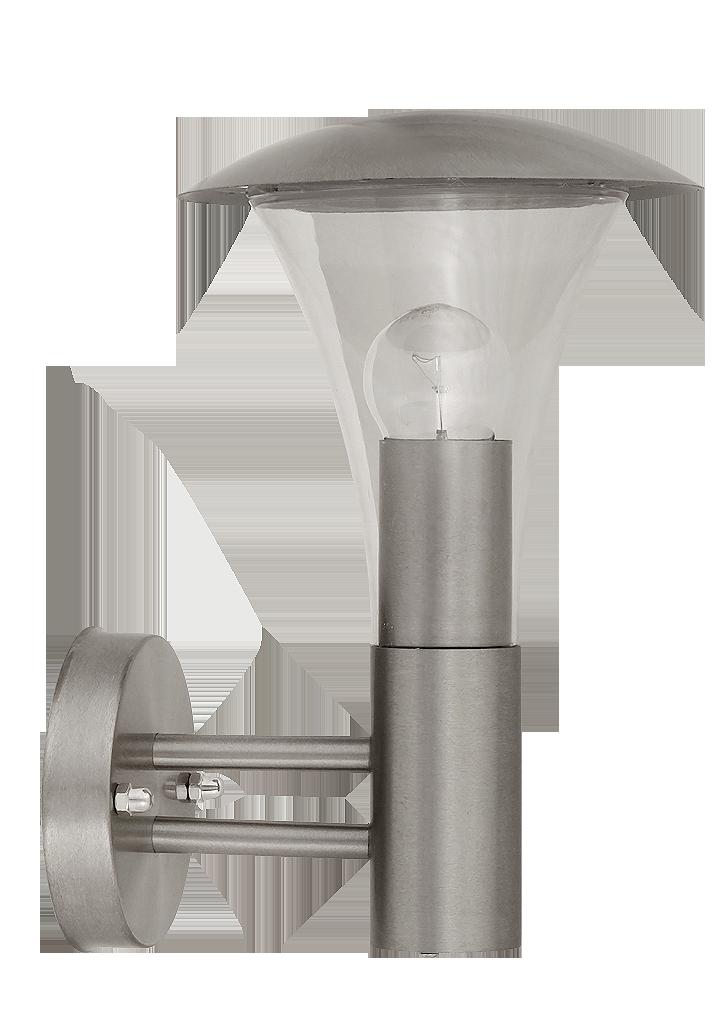 Настенный светильник Rabalux Helsinki 8311 1х60Вт Е27 серебро/металл