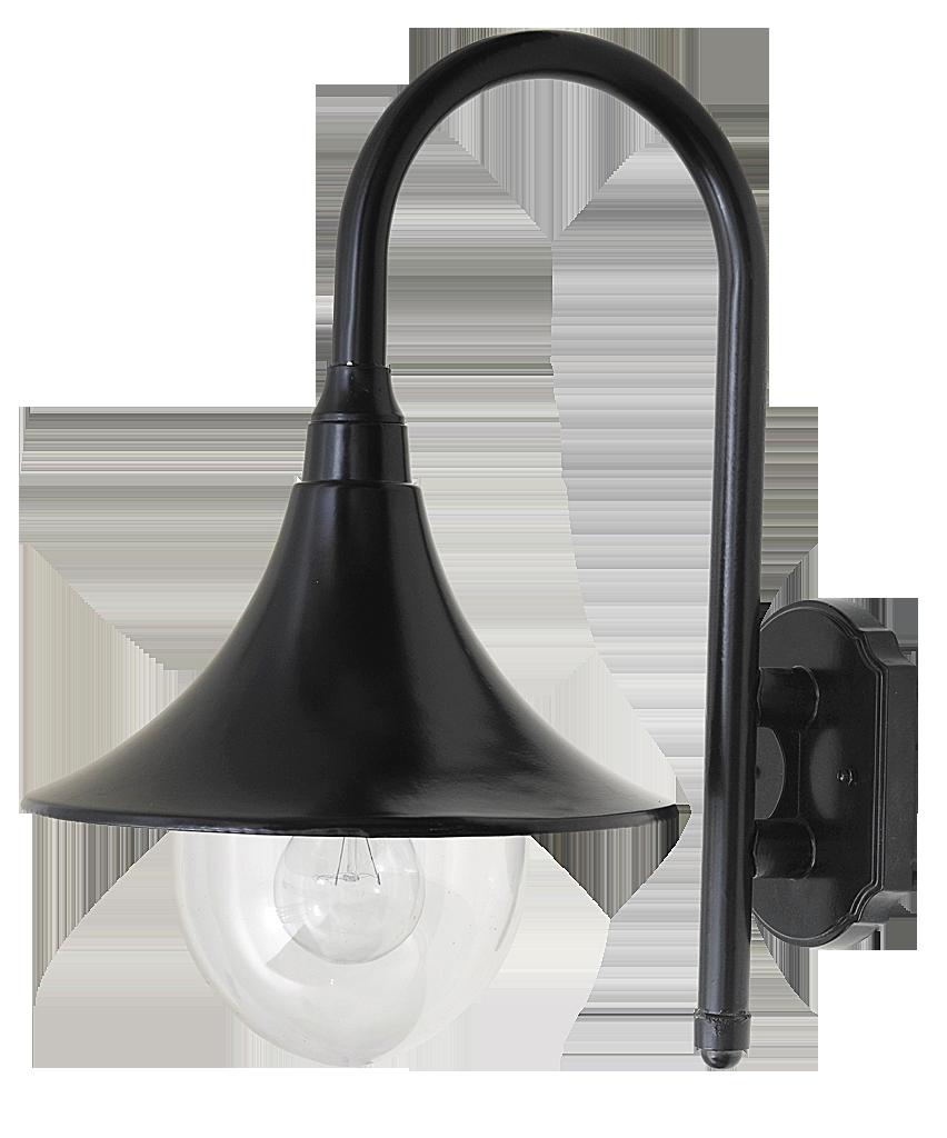 Настенный светильник Rabalux Konstanz 8245 1х100Вт Е27 черный/металл