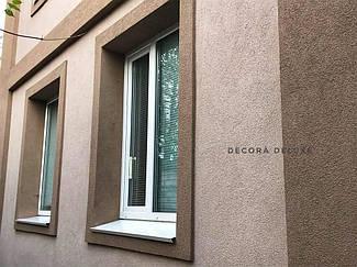 Фасад из акриловой декоративной штукатурки ТМ Kraurol 1
