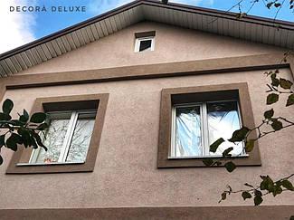 Фасад из акриловой декоративной штукатурки ТМ Kraurol 5