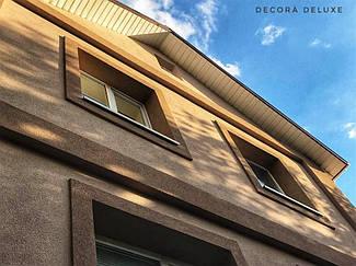 Фасад из акриловой декоративной штукатурки ТМ Kraurol 6