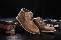 Мужские зимние Ботинки Yuves Оливка 800W-M1, фото 1