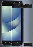 3D защитное стекло для Asus Zenfone 4 Max ZC554KL (на весь экран) Черный