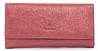 Стильныйженский прочный кошелек из эко кожи с красивым блескомFuerdanni art. J1816 красный, фото 1