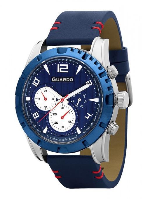 Мужские наручные часы Guardo P11259 SBlBl