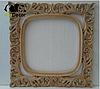 Зеркало в ванную Adana в белой с золотой патиной раме, фото 10