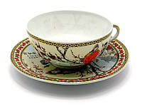 Чашка с блюдцем Ветка сакуры 24417