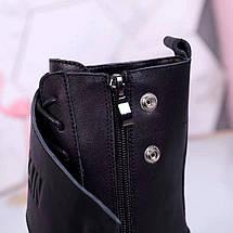 Женские демисезонные ботинки Balmain натуральная кожа/замша, фото 3