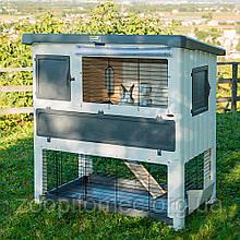 Клітка вольєр для кроликів GRAND LODGE 140 PLUS Ferplast (Ферпласт), пластик