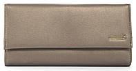 Стильныйженский прочный кошелек из качественнойэко кожи Canevo art. J2820 бронзовый, фото 1