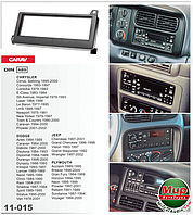Рамка переходная Carav 11-015 Chrysler/Jeep/Dodge/Plymouth 1DIN