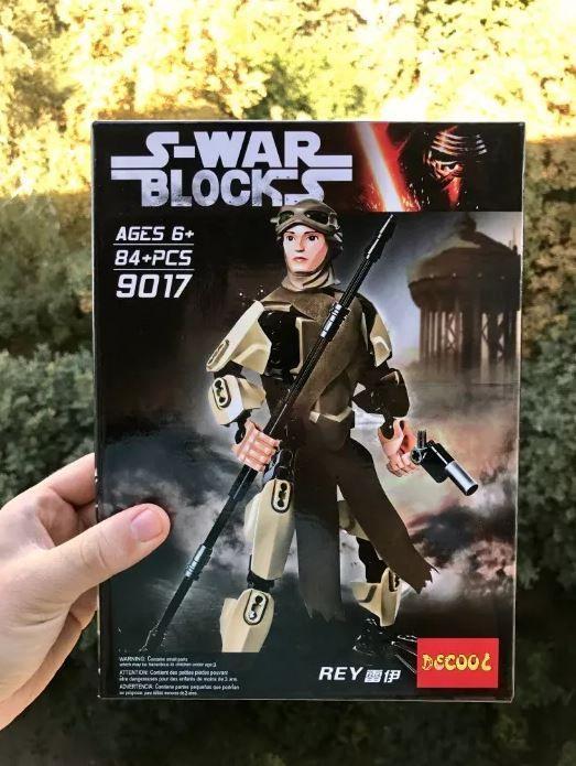 "Конструктор Lego Decool 9017 ""Рей"" 75113 Лего star wars"