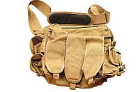 Тактическая сумка Grab Bag в расцветке Coyote Tan. Великобритания, оригинал.