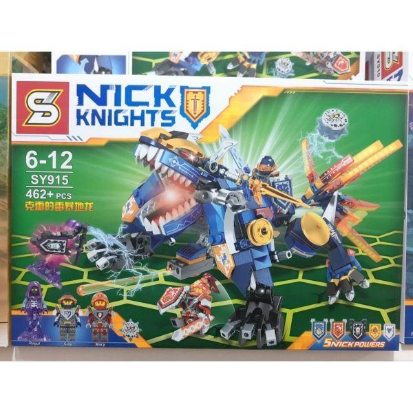 Конструктор SY915 Lego Земляной Дракон лего нексо найтс nexo knights