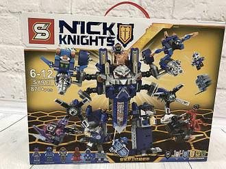 Конструктор Nexo Knights SY913 нексо найтс