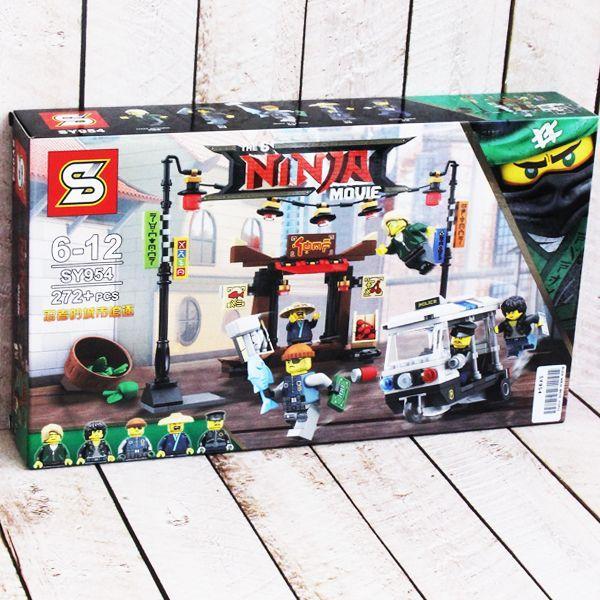 """Конструктор Movie lego 70607 """"Ограбление киоска в Ниндзяго Сити"""" SY954"""