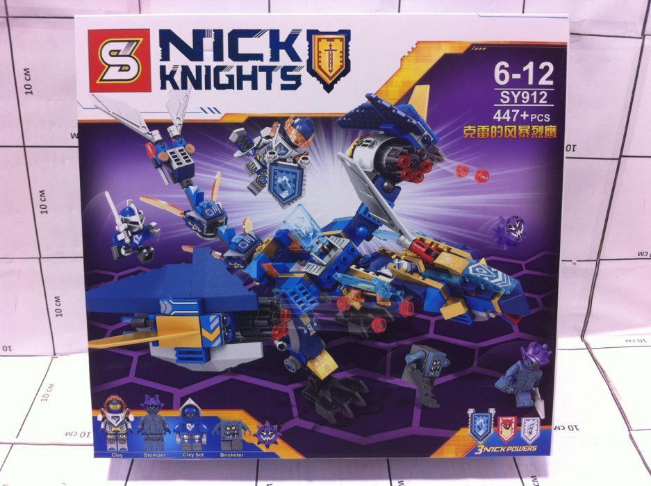 Конструктор SY912 Сокол клэя лего нексо найтс nexo knights lego