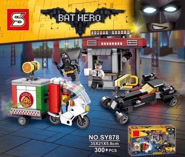 Конструктор lego 70910 Специальная доставка от Пугала SY878