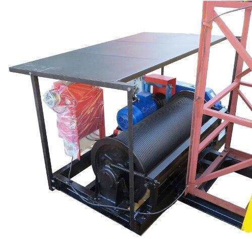 Строительный подъемник мачтовый секционный ПМГ г/п-1000.  Подъёмники мачтовые строительные на 1 тонну. Н-89 м