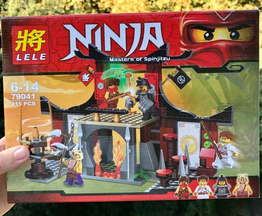 Конструктор Lele 79041 Ninjago ниндзяго Бой у Додзе 70756 Карлофф