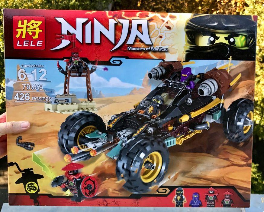 Конструктор Lele Ninjago 79339 Горный Внедорожник Лего 70589 ниндзяго