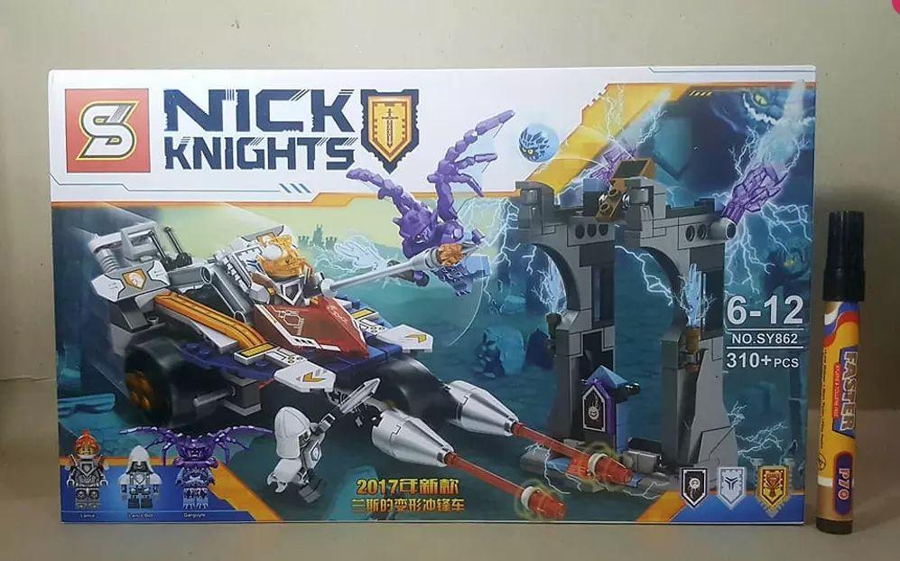 Конструктор Lego 70348 Турнирная машина Ланса нексо SY862 Nexo Knight