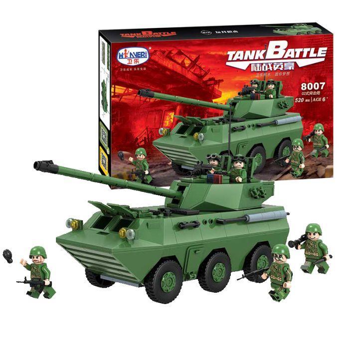Конструктор lego лего winner 8007 армия SWAT спецназ танк град солдаты