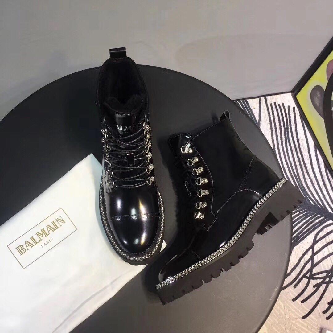 Женские зимние ботинки Balmain Paris