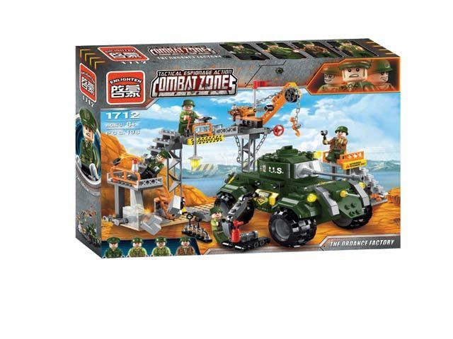 Конструктор Enlighten Brick 1712 Военная база лего lego swat военные