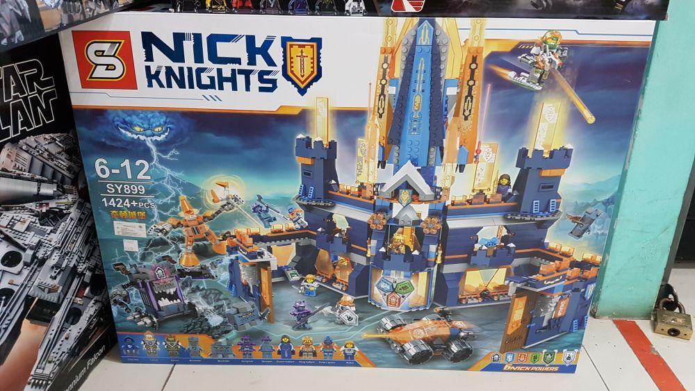 Конструктор Lego Nexo knights Королевский замок Найтона 70357 sy899 нексо найтс