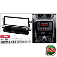 Рамка переходная ACV 281250-13-2 Dacia Duster Faclift 10/2013-/Dokker,  Lodgy 06/2012-> black