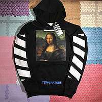 Худи Off-White • Mona Lisa Black • Топ качество • Модный бренд