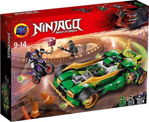 Конструктор sy1002 Внедорожник ниндзя Lego Ninjago 70641 лего ниндзяго