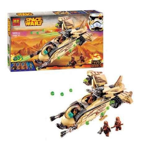 Конструктор Bela 10377 Боевой корабль Вуки Lego Star Wars 75084 лего