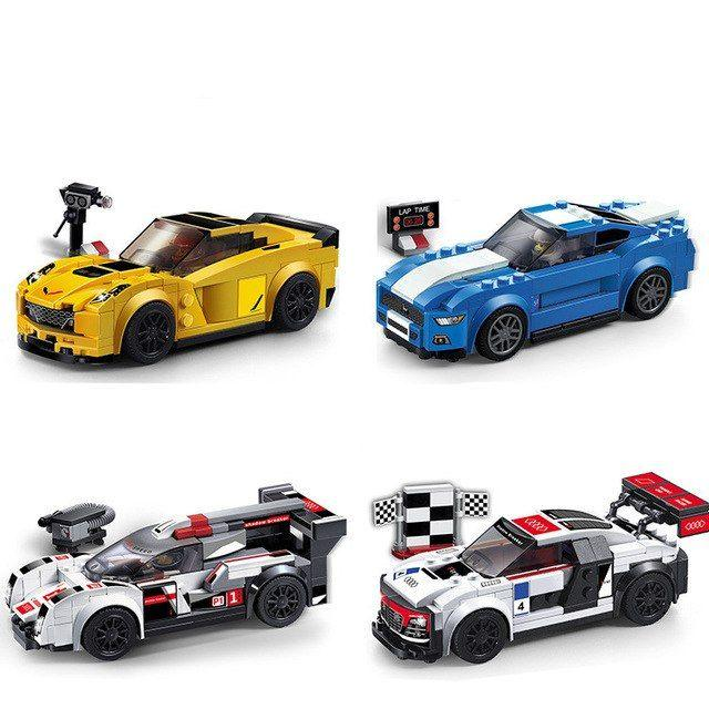 Конструктор Decool 78111-78114 Lego technic Speed Champions Лего