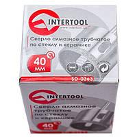 Коронка трубчатая по стеклу и керамике 40 мм Intertool SD-0363