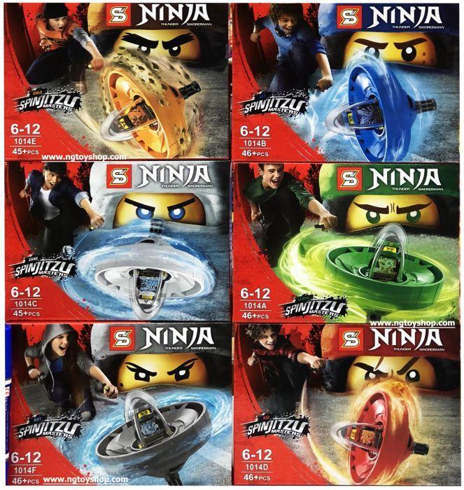 Конструктор спинджитсу ninjago ниндзяго лего lego Спиннер sy1014