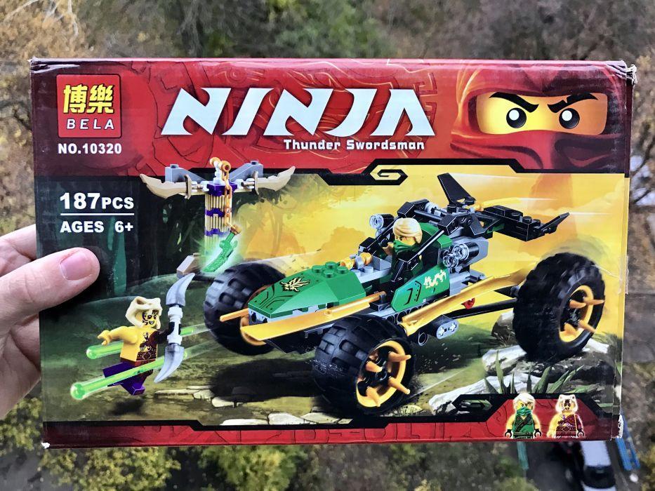 Конструктор Bela 10320 Тропический багги Lego Ninjago 70755 ниндзяго