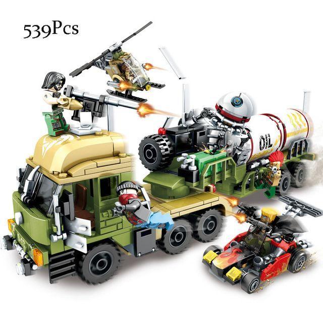 Конструктор Sembo 11713 военный транспорт террористов Лего Lego