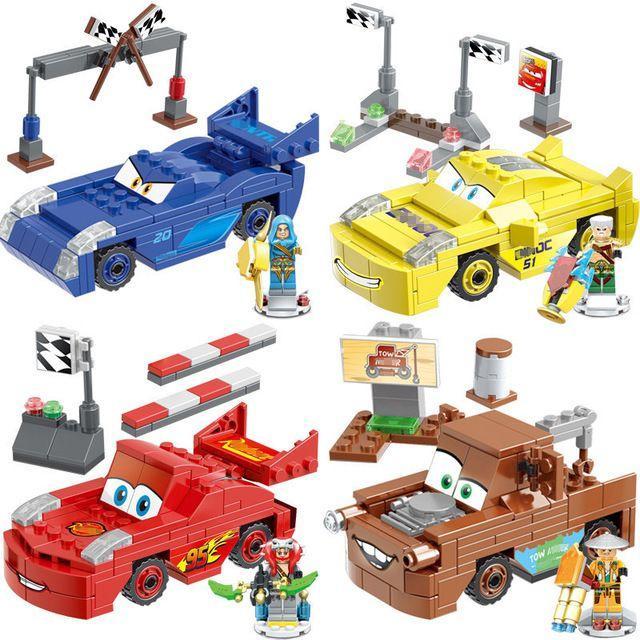 Конструктор JLB 3D48 Тачки Cars Lego city лего сити