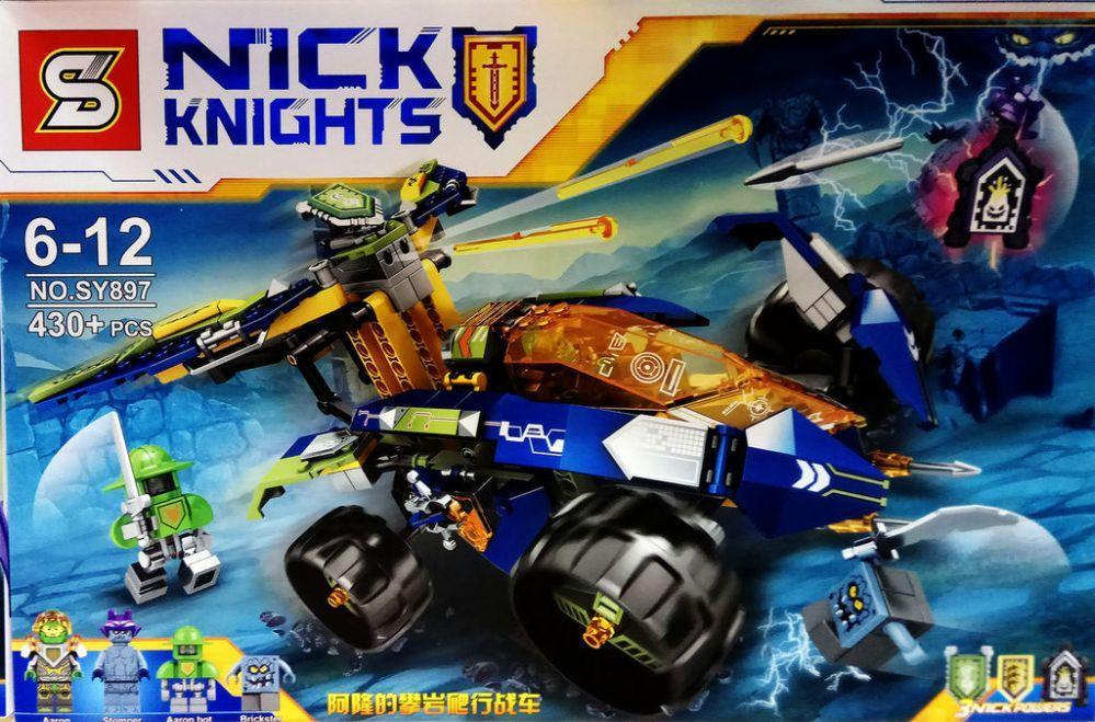 Конструктор SY897 Lego Вездехд Аарона Nexo Knights нексо найтс